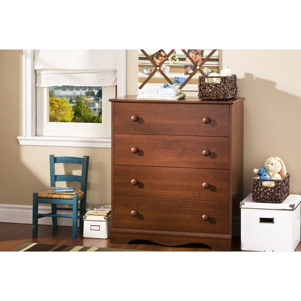 shop south shore heavenly 4 drawer chest free shipping today overstock 10296148. Black Bedroom Furniture Sets. Home Design Ideas