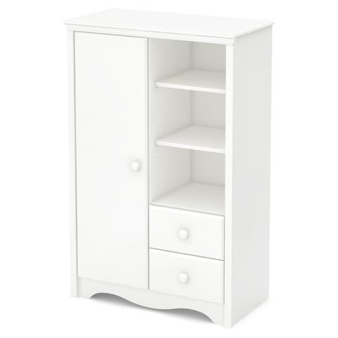 South Shore Heavenly Armoire with Drawers
