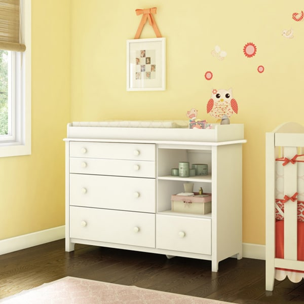 Little Smileys Changing Table with Removable Changing Station. Opens flyout.