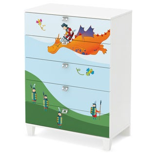 South Shore Andy 5-Drawer Chest with Dragon Ottograff Decals