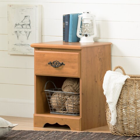 South Shore Prairie 1-Drawer Night Stand