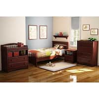 South Shore Sweet Morning 1-Drawer Night Stand - brown