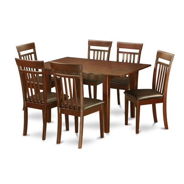 Shop 7-piece Kitchen Nook Small Table And 6 Dining Room