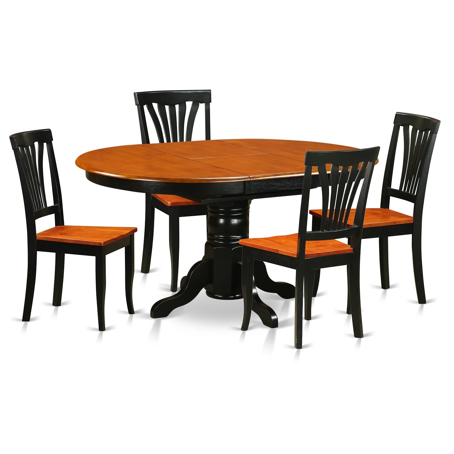 Oval Dining Room Table With Leaves
