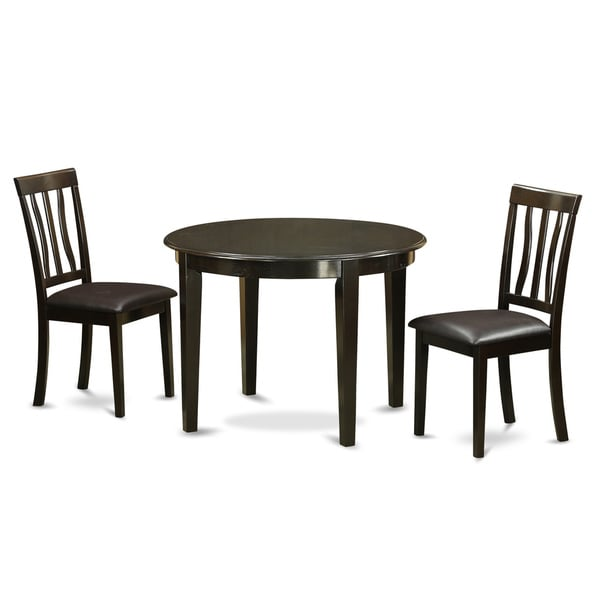 Small Round 3 Piece Table And 2 Kitchen Chairs Free
