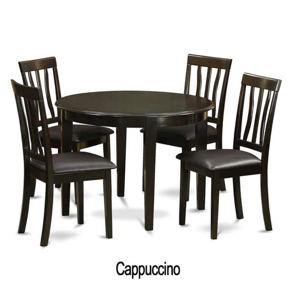 5-piece Small Kitchen Table and 4 Kitchen Chairs