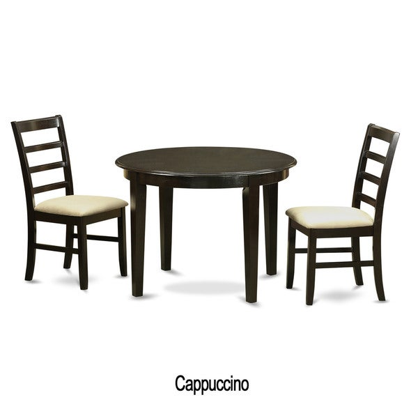 shop 3 piece small kitchen table and 2 dinette chairs free shipping today. Black Bedroom Furniture Sets. Home Design Ideas