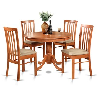 5-piece Dining Table and 4 Kitchen Chairs
