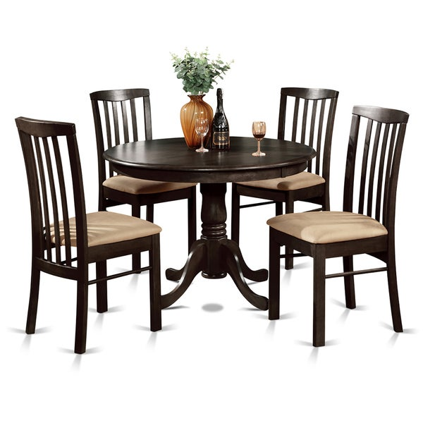 piece dining table round table and 4 dining chairs free shipping