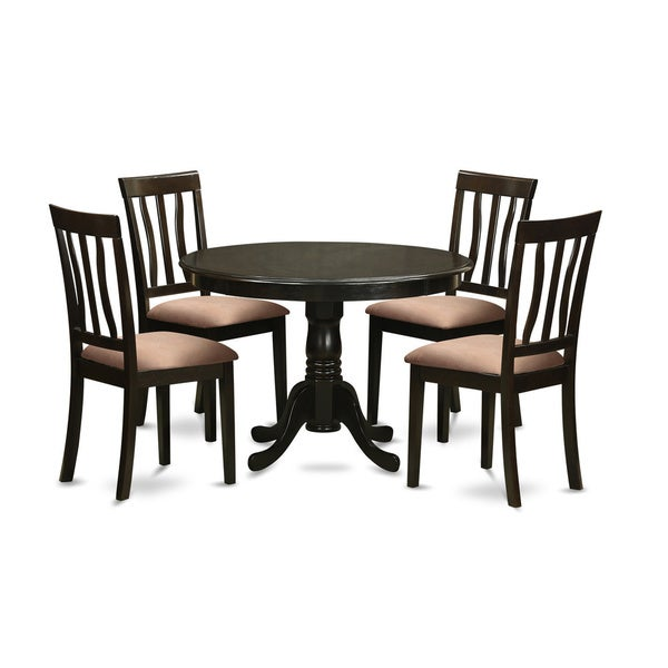 5-piece Dining Table and 4 Dinette Chairs. Opens flyout.
