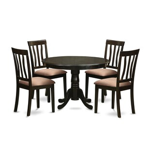 5-piece Dining Table and 4 Dinette Chairs