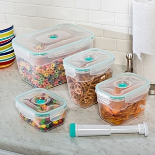Vac 'n Save Rectangular 9-piece Set