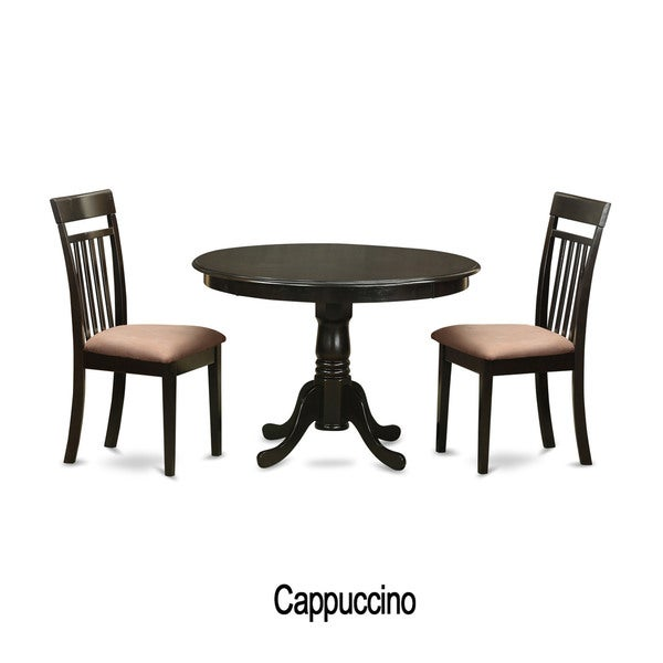 Kitchen Nook 3 piece Dining Table and 2 Dinette Chairs