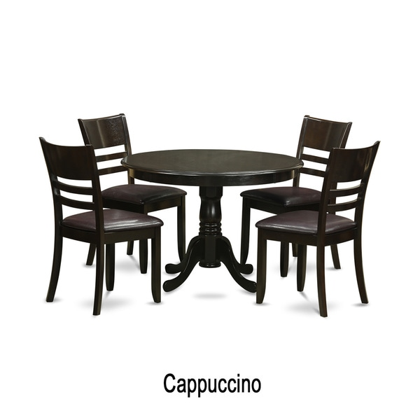 5 Piece Small Round Table And 4 Dining Chairs: Shop 5-piece Small Dining Table And 4 Dinette Chairs
