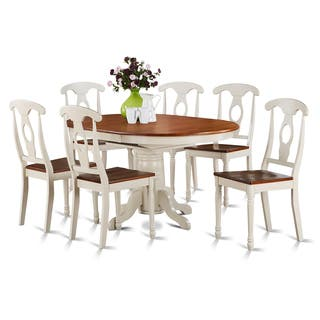 7-piece Oval Dining Table and 6 Dining Chairs|https://ak1.ostkcdn.com/images/products/10296450/P17410234.jpg?impolicy=medium