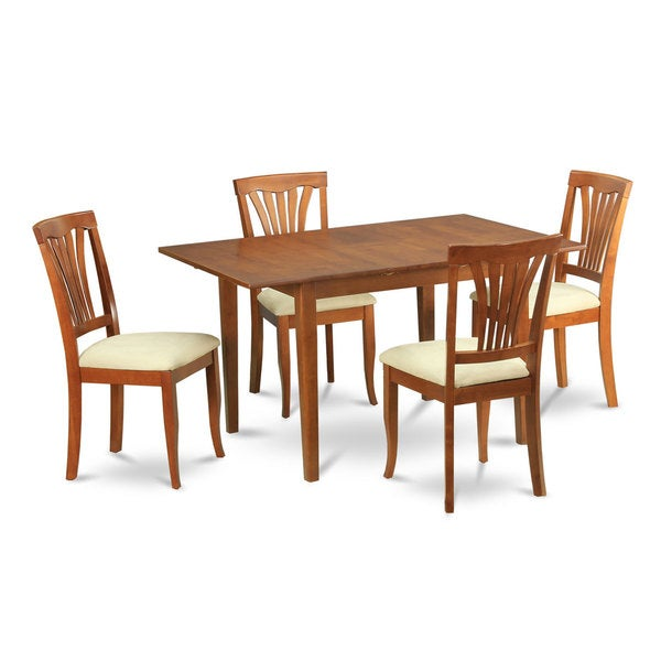 5 piece dinette table and 4 dining room chairs free