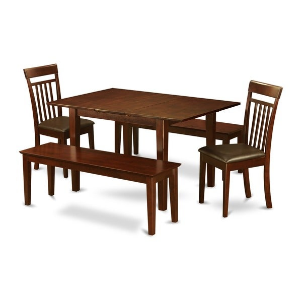 5-piece Dinette Table and 2 Dining Chairs and 2 Dining Benches. Opens flyout.
