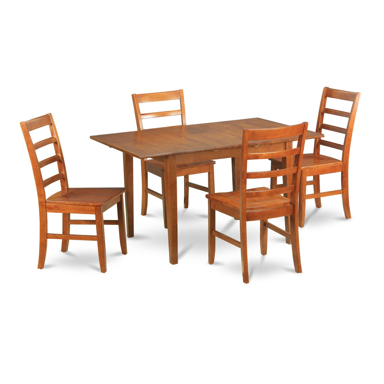 5-piece Kitchen Nook Table and 4 Kitchen Dining Chairs (S...