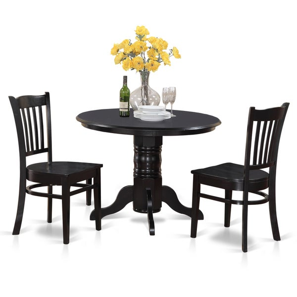 3 piece small round table and 2 kitchen chairs free for Small kitchen table and chairs