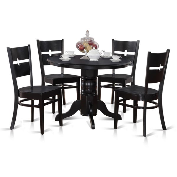 Kitchen Nook Table Sets: Shop 5-piece Kitchen Nook Round Table With 4 Dinette