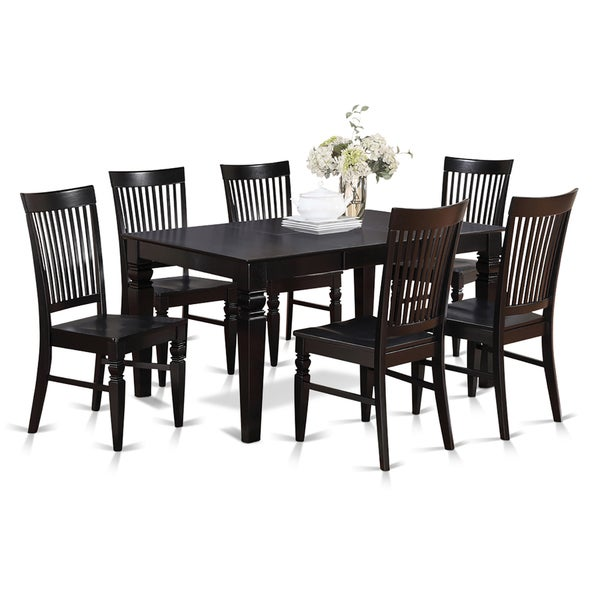 Shop 7 Piece Dining Table And 6 Dining Chairs Free Shipping Today