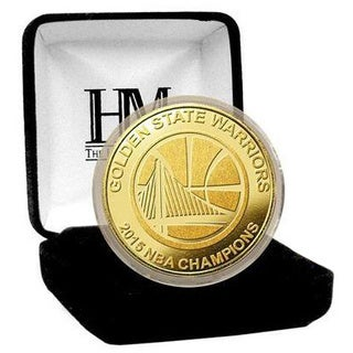 Golden State Warriors 2015 NBA Finals Champions Gold Mint Coin