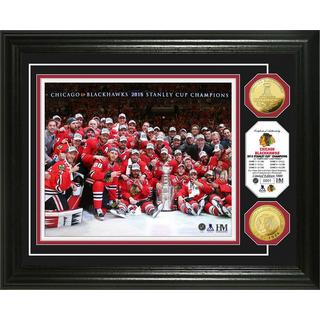 Chicago Blackhawks 2015 Stanley Cup Champions 'Celebration' Gold Coin Photo Mint