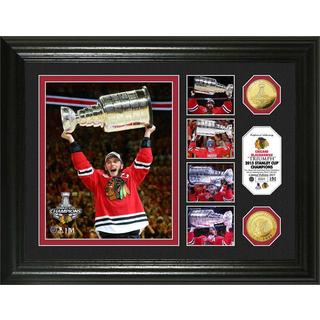 Chicago Blackhawks 2015 Stanley Cup Champions 'Triumph' Gold Coin Photo Mint