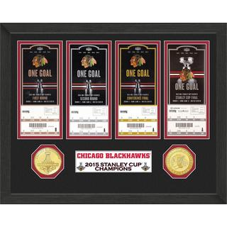 Chicago Blackhawks 2015 Stanley Cup Champions Ticket Collection