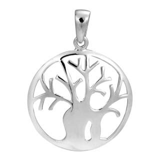 Handmade Together Forever Tree of Life .925 Sterling Silver Pendant (Thailand)|https://ak1.ostkcdn.com/images/products/10296542/P17410323.jpg?impolicy=medium