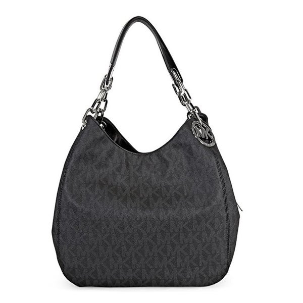 176b5f34ac2b Shop Michael Kors Fulton Large Black Shoulder Tote Bag - Free ...