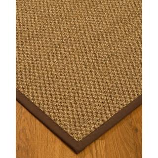Hand-crafted Fudge Ventura Sisal Rug (2' x 3')