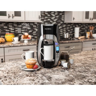 Hamilton Beach Black Programmable Single-Serve Coffee Maker with 40-Ounce Water Reservoir