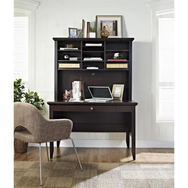 Altra Amelia Desk And Hutch Free Shipping Today