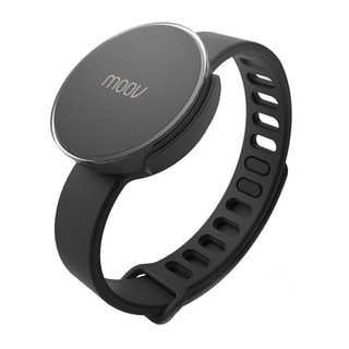 Moov Smart Multi-Sport Fitness Coach and Tracker Band (Black)