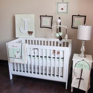 Pam Grace Creations Baby Bear 10-Piece Crib Bedding Set