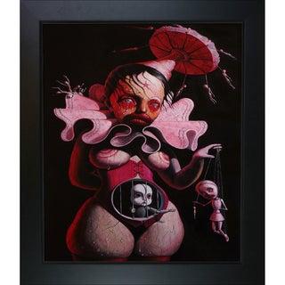 Adrian Borda 'Angels Fly in Chains' Framed Fine Art Print