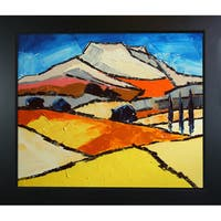 Atelier De Jiel 'Sainte Victoire' Framed Fine Art Print