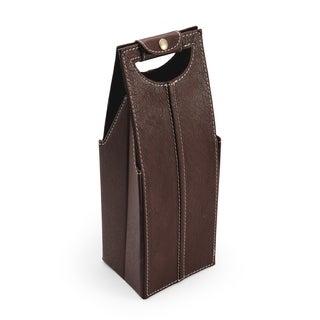 Elements Brown Single Wine Bag