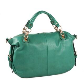Moda Luxe 'Van' Vegan Leather Satchel Bag