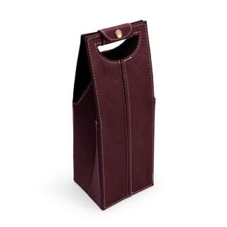 Elements Maroon Single Wine Bag