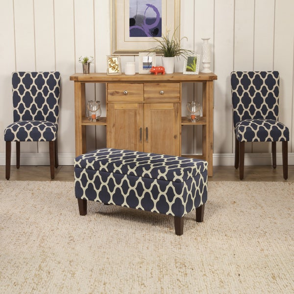 HomePop Geo Brights Parson Chairs (Set Of 2)   Free Shipping Today    Overstock.com   17410772