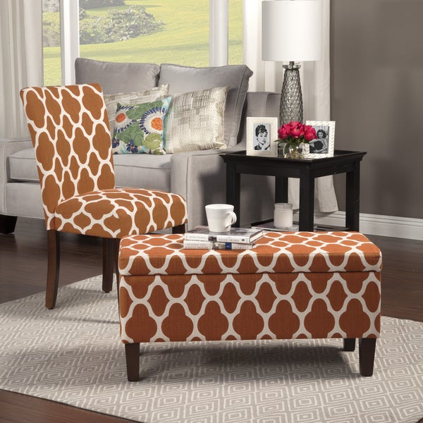HomePop Geo Brights Parson Chairs (Set Of 2)   Free Shipping Today    Overstock.com   17410773