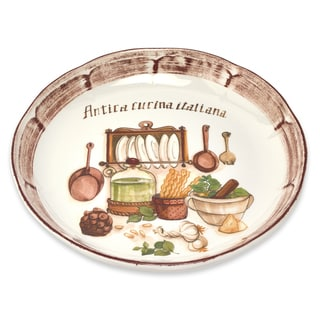 Cucina Italiana 13-inch Italian-made Rice Platter