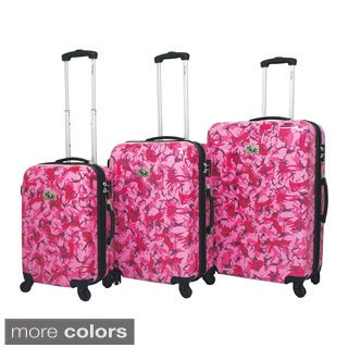 Chariot Armada 3-Piece Hardside Lightweight Expandable Upright Spinner Luggage Set