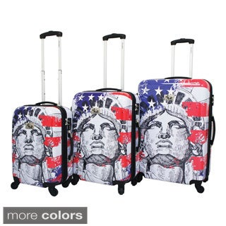 Liberty 3-Piece Hardside Lightweight Expandable Upright Spinner Luggage Set with TSA Lock