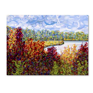 Mandy Budan 'Summers End' Gallery Wrapped Canvas Art