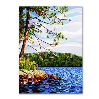 Mandy Budan 'View From Mazengah' Gallery Wrapped Canvas Art