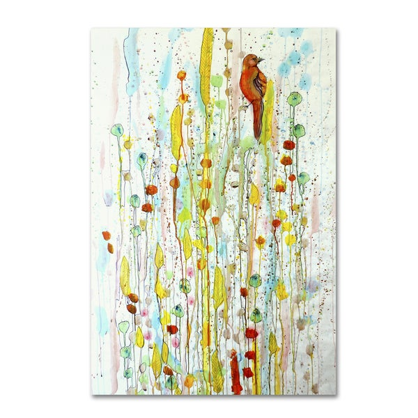 Sylvie Demers 'Pause' Gallery Wrapped Canvas Art