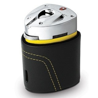 Tonino Lamborghini Mugello Yellow Triple Torch Flame Table Lighter (Ships Degassed)